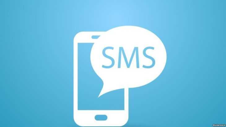Получение пропуска по СМС